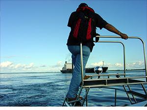 Embarque do Prático em Itacoatiara (Max, 2008)